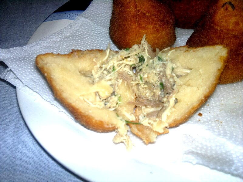 Coxinha de galinha deliciosa da Vovó Cely