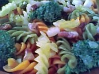 Massa com brócolis