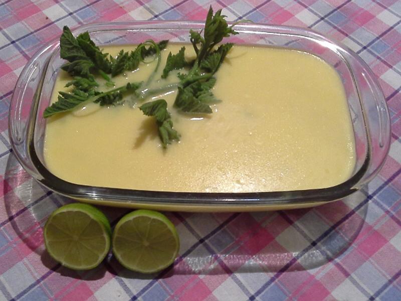 Sopa de milho (buré)