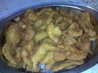 Iscas de frango